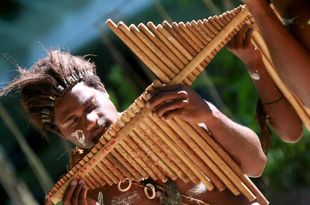 bamboo mouth harp, solomon islands