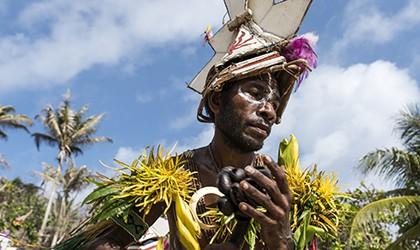 Portrait of local dancer_3_Tuam island_PNG