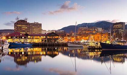 Arriving Hobart