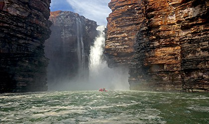 Kimberley Coral Expeditions King George Falls northern Australia