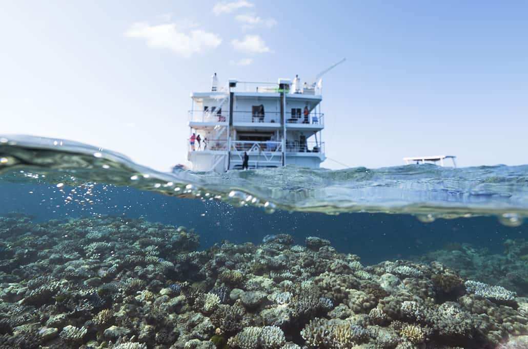 Coral Expeditions Great Barrier Reef cruise
