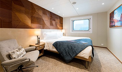 Promenade Deck Stateroom on Coral Adventurer