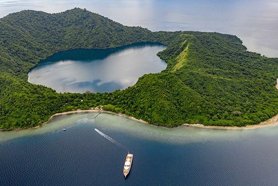 Coral Adventurer Maiden Voyage Satonda & Tambora Village