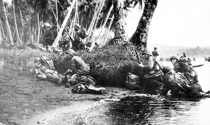 Rendova Island War Time