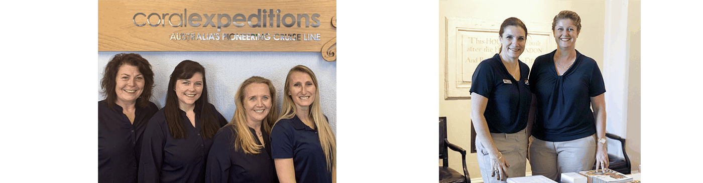 Coral Expeditions Sales Team