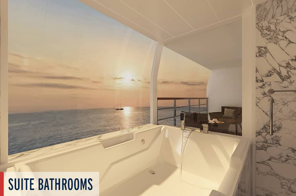 Coral Geographer Suite Bathroom Render 2