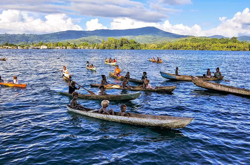 ISLAND TRAILS OF THE SOLOMONS & VANUATU
