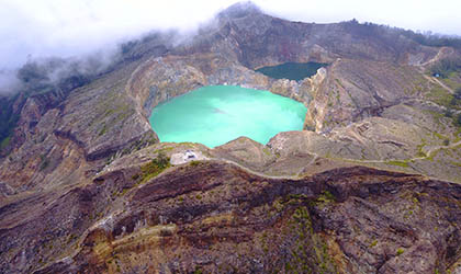 Kelimutu National Park Crater Lakes