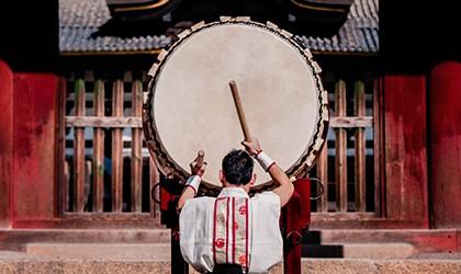 Japanese Drumming TH