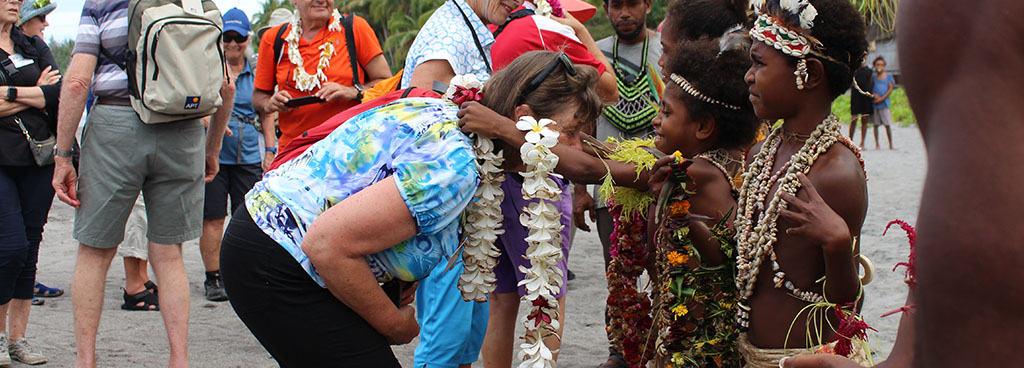 Day 7 - Greeting at Sanananda