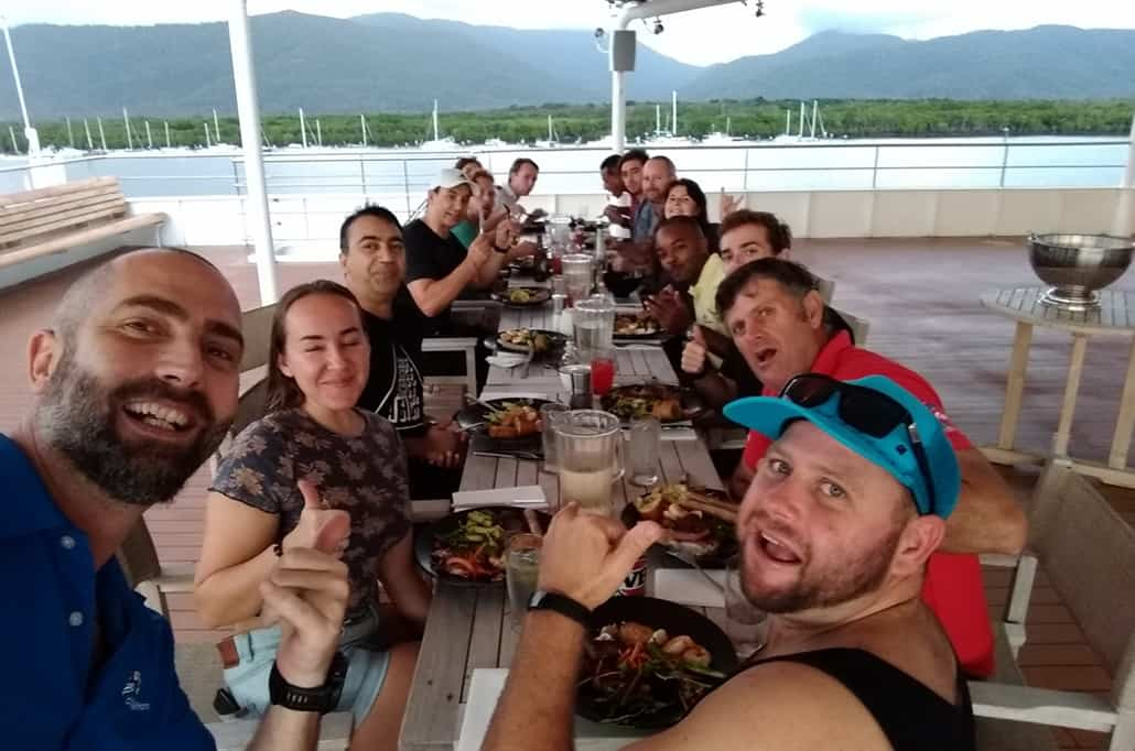 Coral Adventurer Crew Cairns 2