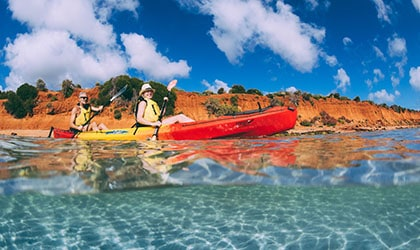 Francois Peron National Park Kayak