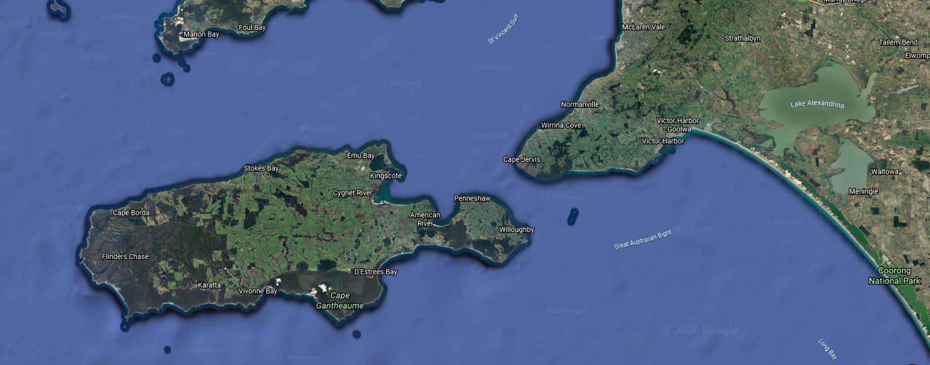 Google Earth_Kangaroo Island