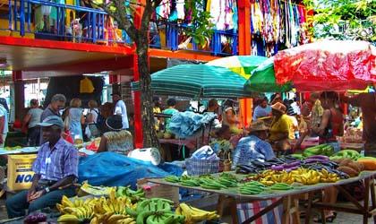 Port Victoria Market, Mahe