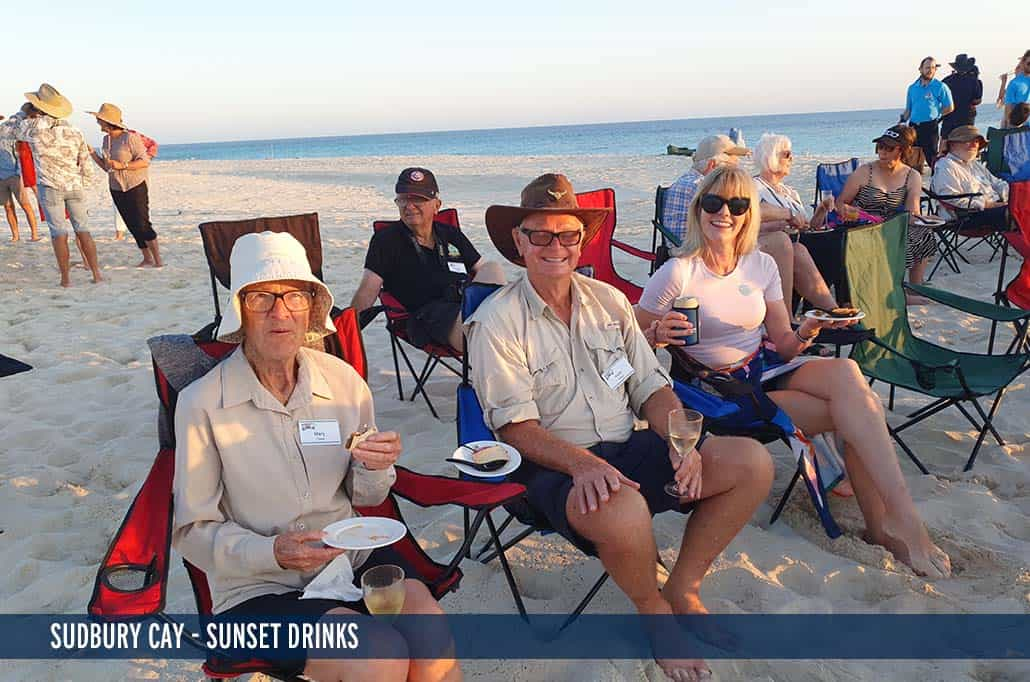 SUDBURY CAY - SUNSET DRINKS