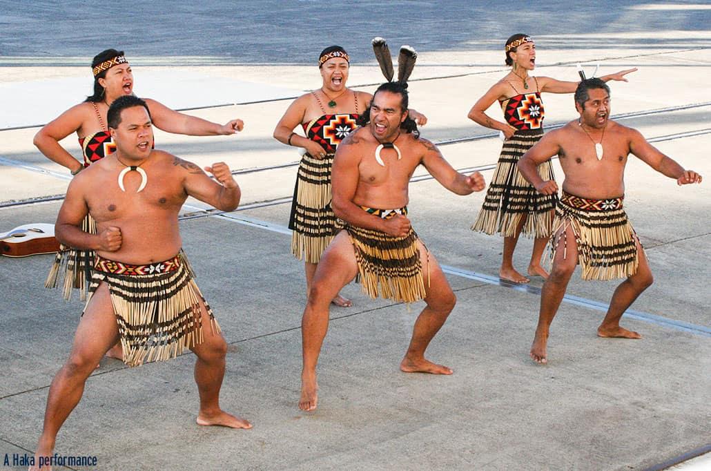 A Haka performance, New Zealand