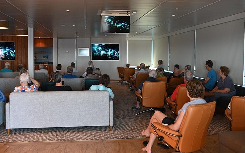 Coral Adventurer Bridge Deck Lounge Lecture