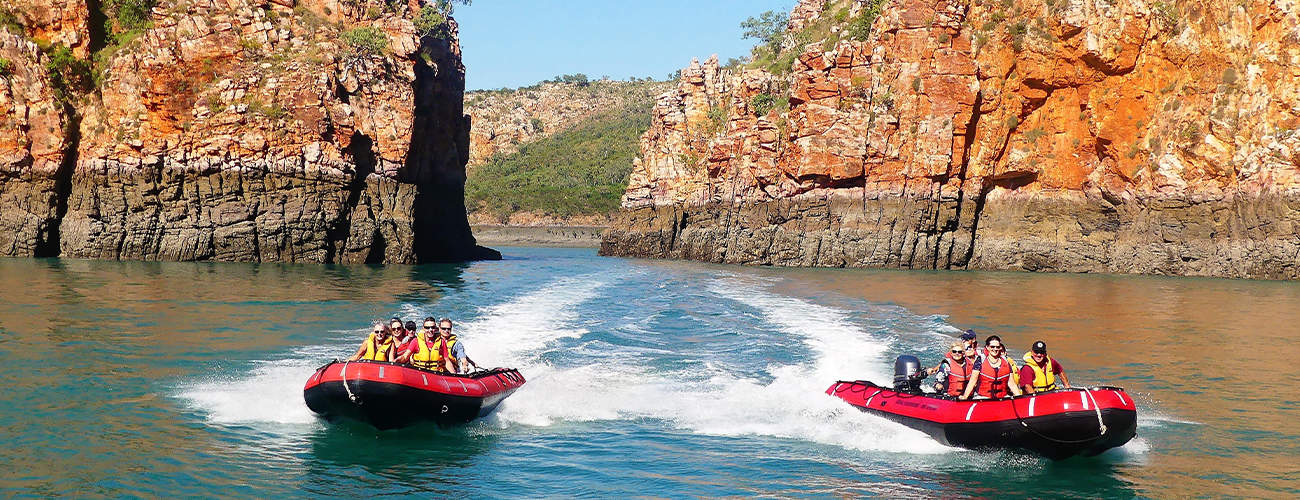 Horizontal Falls on Kimberley Cruise with Coral Expeditions