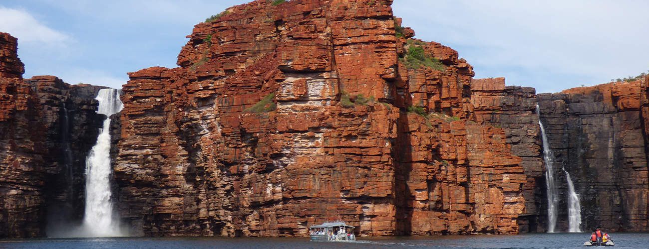 King George Falls with Coral Expeditions