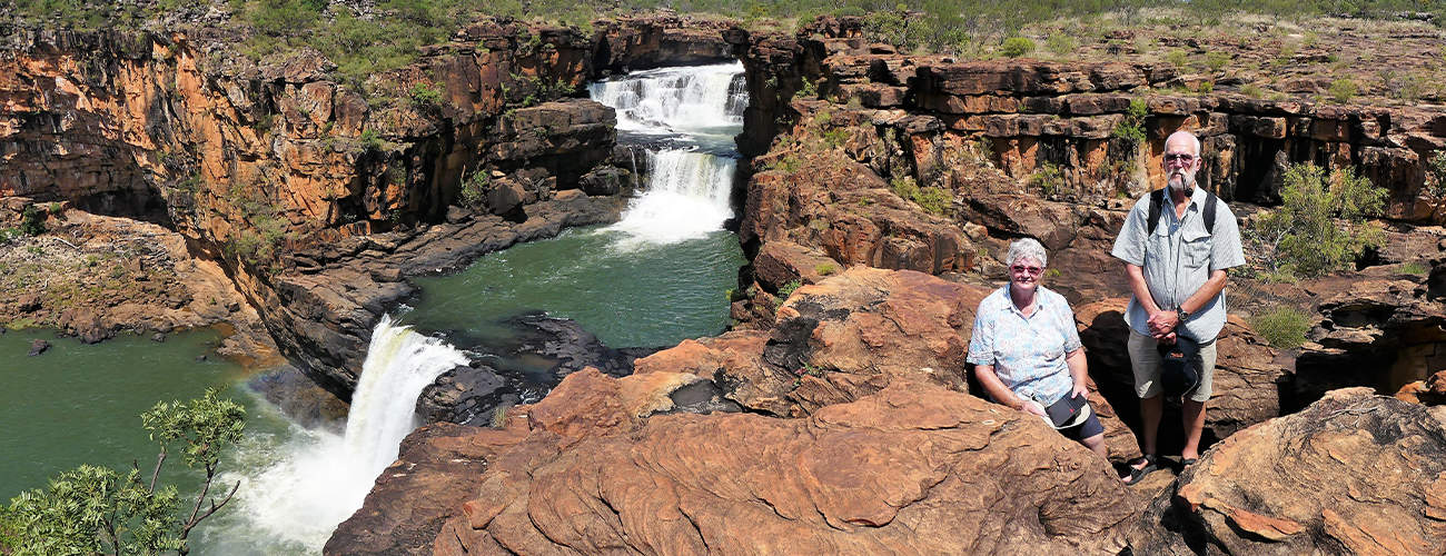 Mitchell Falls on Kimberley Cruise with Coral Expeditions