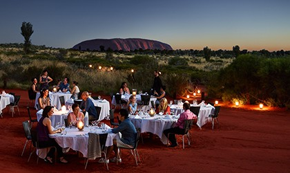 Dinner Under Stars At Ularu Coral Expeditions