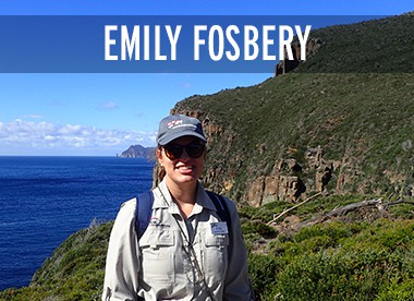 Emily Fosebery Expedition Leader Coral Expeditions