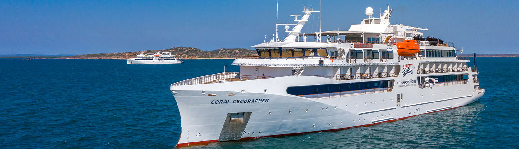 Coral-Geographer-and-Coral-Adventurer-Cruise-Ships-In-The-Kimberley-May-2021