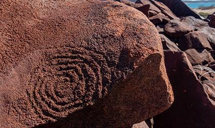 Dampier Archipelago Petroglyph