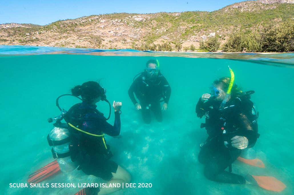 Scuba-Skills-Session-Lizard-Island-2020