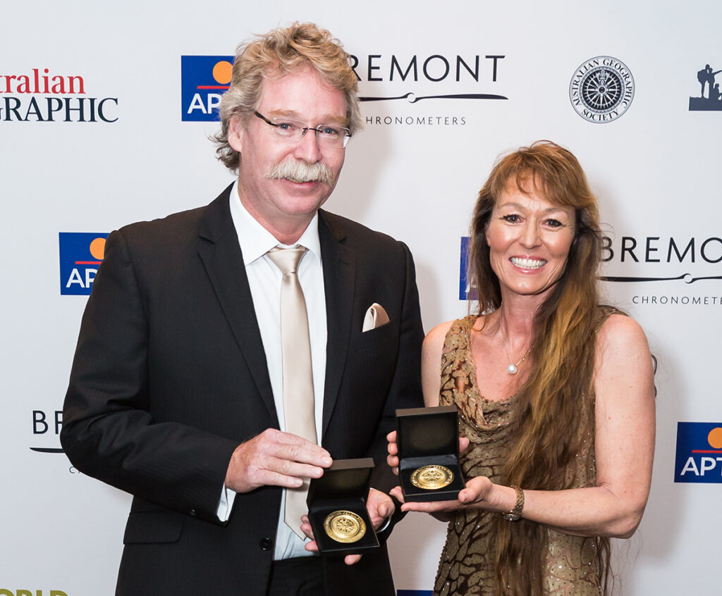 Australian Geographic Society Gala Awards.