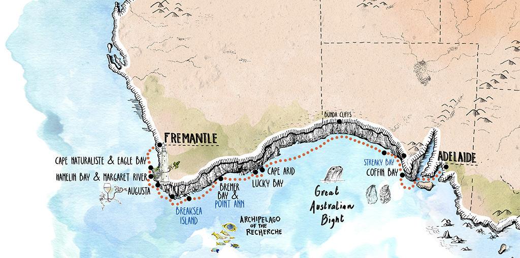 Across the Great Australian Bight_Fremantle to Adelaide