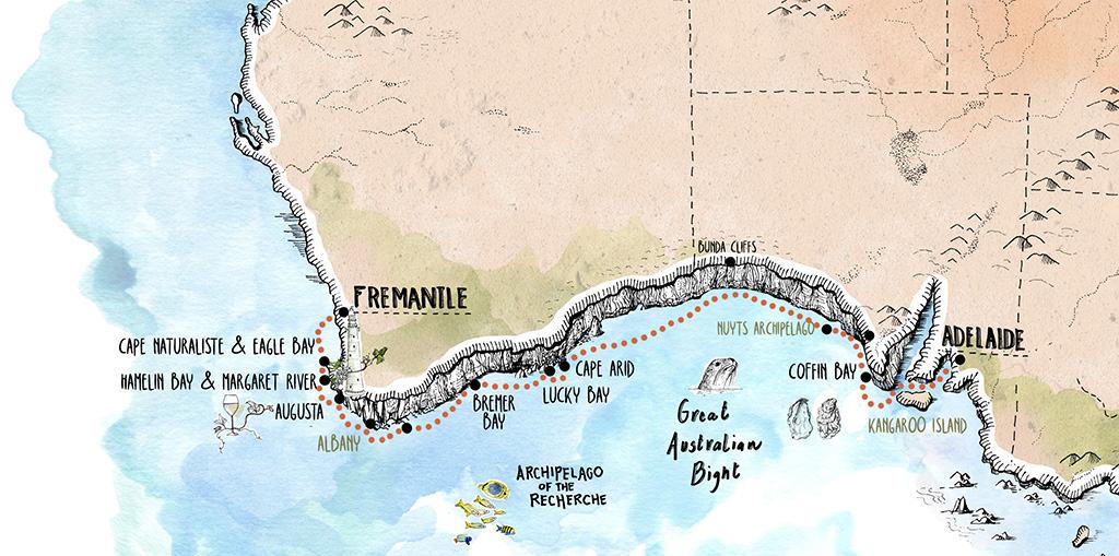 Across the Great Australian Bight_Adelaide to Fremantle